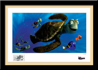 Artist Finding Nemo Artwork portrait