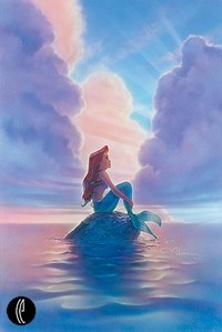 Artist Little Mermaid Artwork portrait