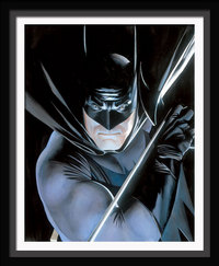 Artist Alex Ross Comic Art portrait