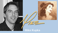 Artist Mike Kupka portrait