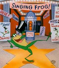Artist Michigan J Frog Artwork portrait