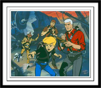 Artist Jonny Quest Artwork portrait
