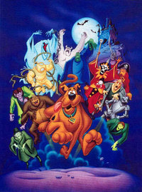 Artist Scooby-Doo Artwork portrait