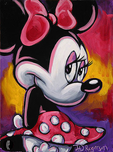 Tim Rogerson Minnie Mouse Artwork