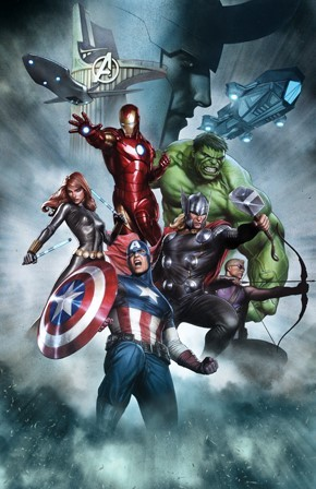 Marvel Comics animation art