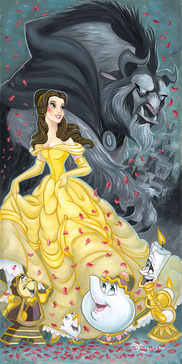 Tim Rogerson Beauty and the Beast Art