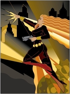Mike Kungl Mike Kungl Limited Edition Giclee on Paper Black Widow (Paper)