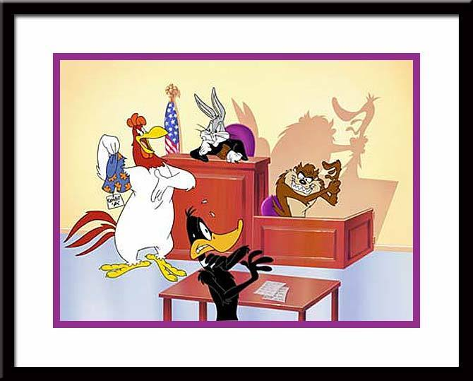 Warner Brothers Daffy Duck Art