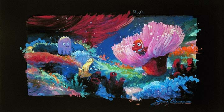 James Coleman Finding Nemo Artwork