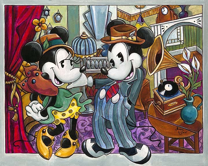 Amy Lynn Mickey Mouse Artwork