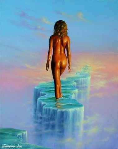 Jim Warren Jim Warren Limited Edition Giclee on Canvas Dream Walker
