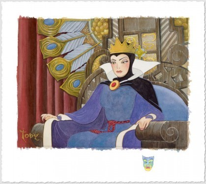 Toby Bluth Snow White Artwork