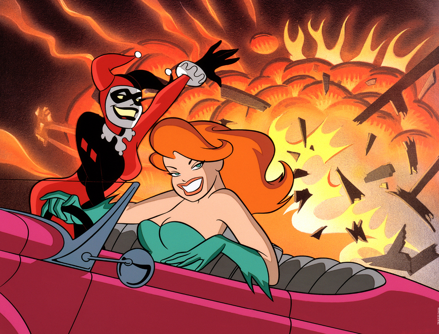 Bruce Timm animation art