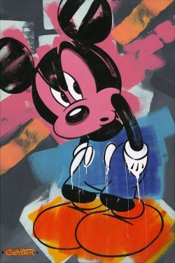 Trevor Carlton Mickey Mouse Artwork