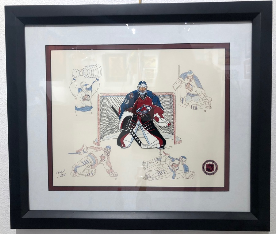 Sports Memorabilia     animation art