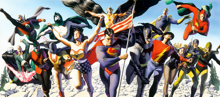 Alex Ross animation art