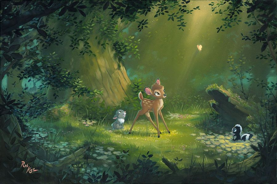 Rob Kaz Bambi Art