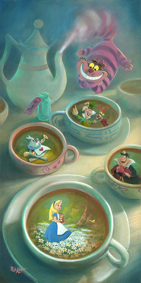 Rob Kaz Alice in Wonderland Animation Art