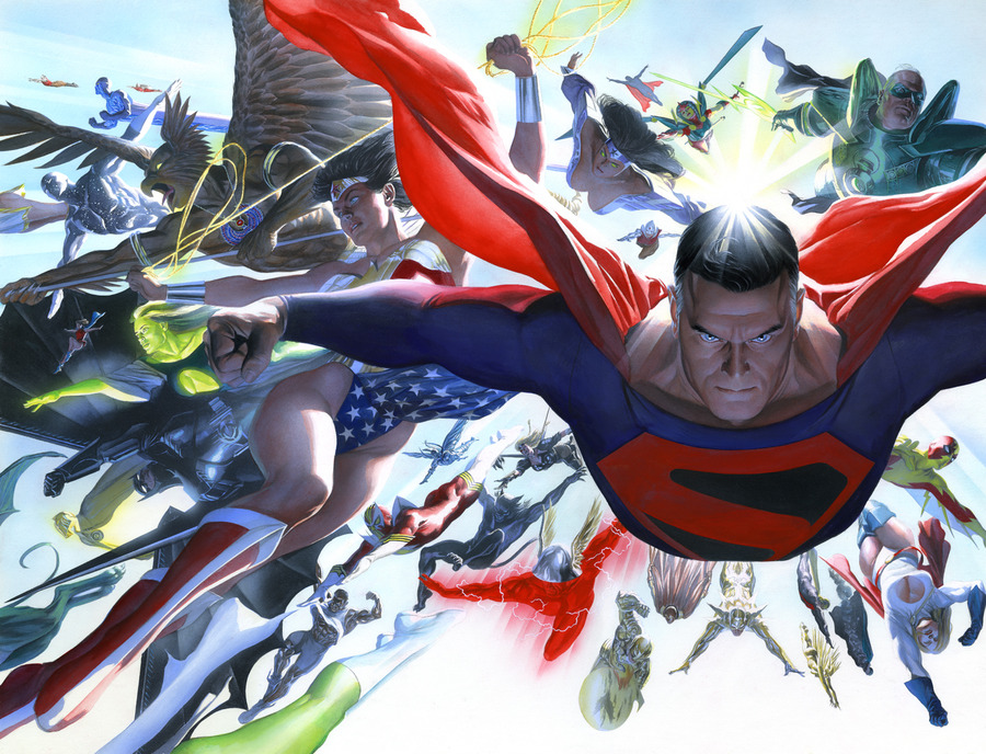 Alex Ross Superman Artwork