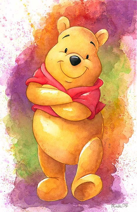 Michelle St. Laurent  Winnie the Pooh Artwork