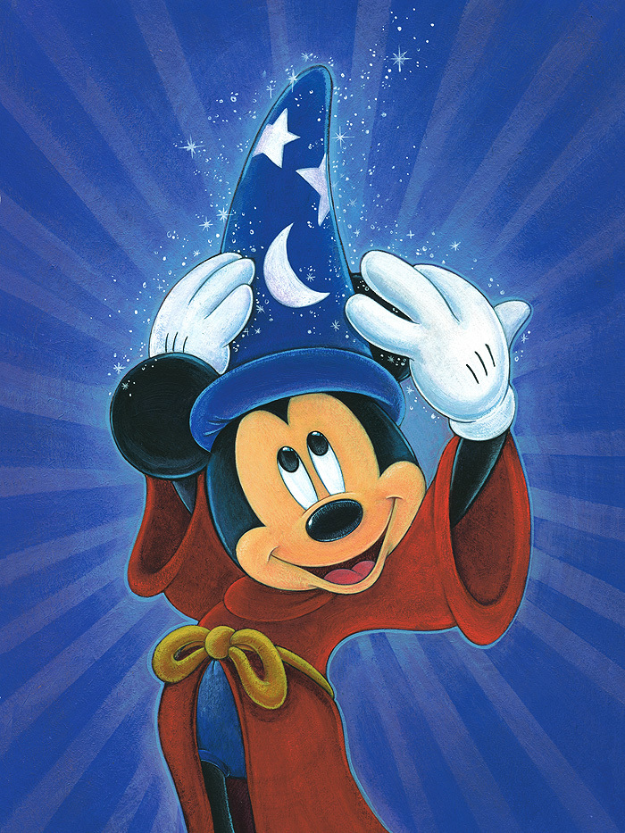 Brett Iwan Mickey Mouse Artwork