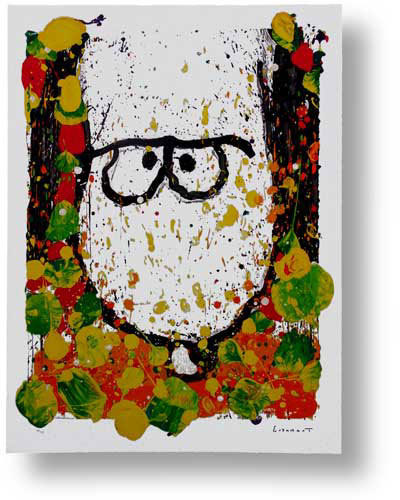 Tom Everhart Tom Everhart Limited Edition Lithograph Squeeze the Day - Monday
