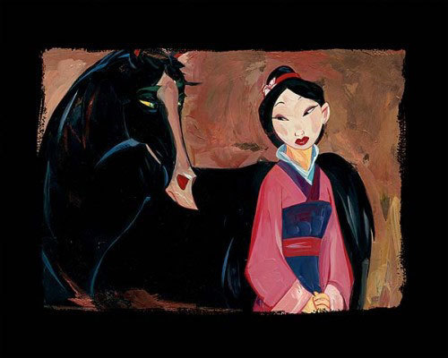 Jim Salvati Mulan Artwork