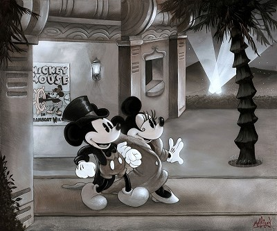 James Mulligan Mickey Mouse Artwork