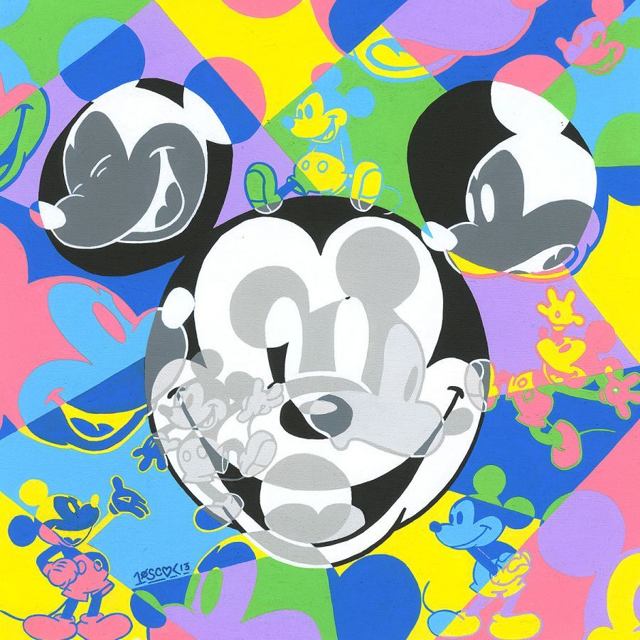 Tennessee Loveless Mickey Mouse Artwork