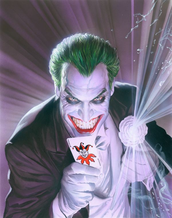 Alex Ross Comic Art Alex Ross Limited Edition Giclee On Canvas