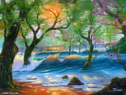 Jim Warren Jim Warren Limited Edition Giclee on Canvas Natures Finest