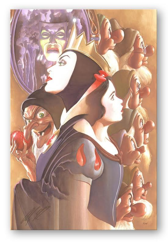 Alex Ross Snow White Artwork