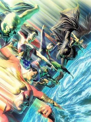 Superhero Artwork Alex Ross Limited Edition Giclee on Paper Protectors of the Universe