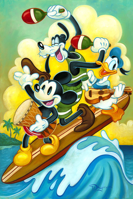 Tim Rogerson Mickey Mouse Artwork