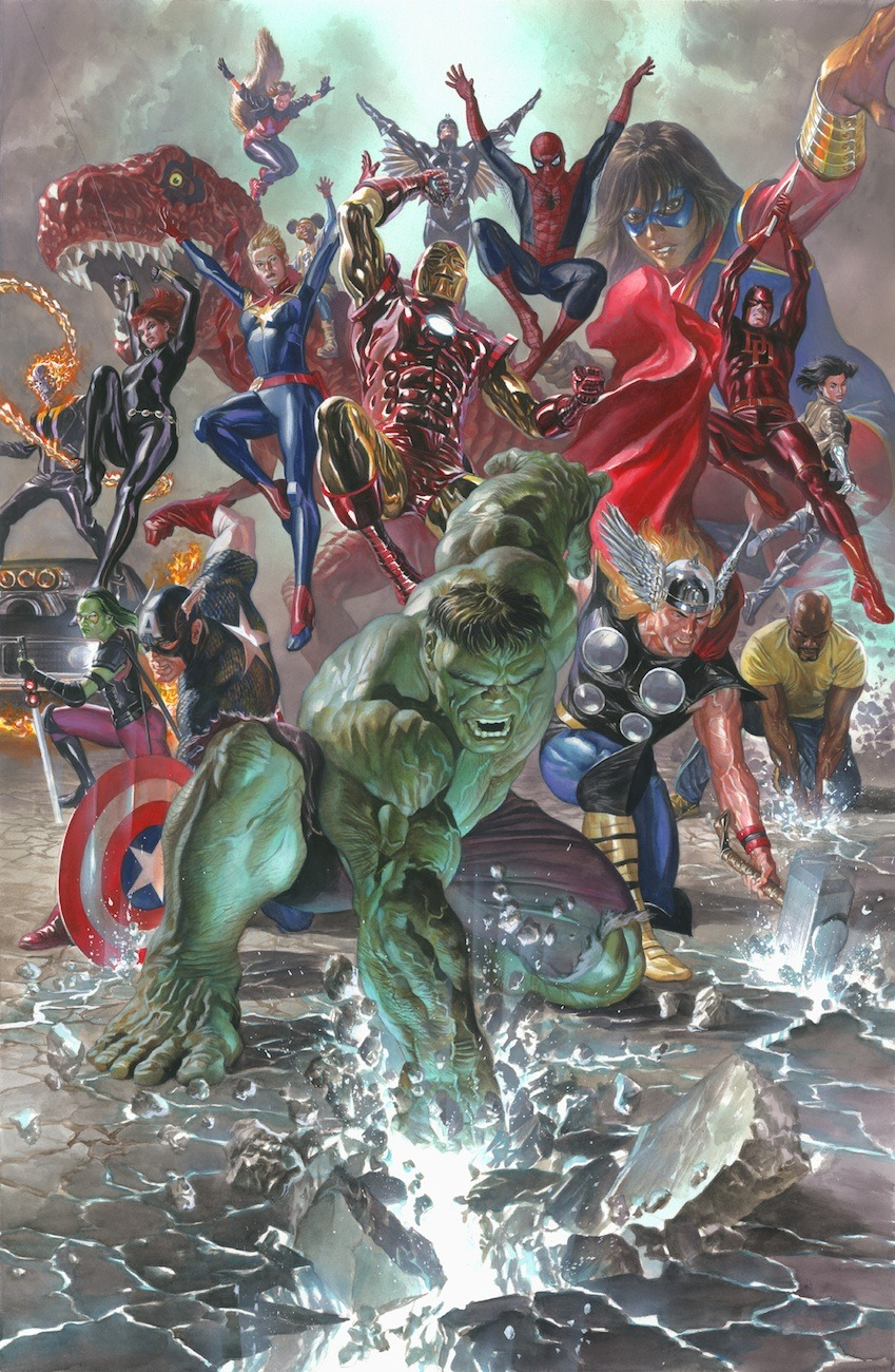 Alex Ross Alex Ross Comic Art