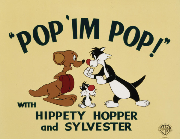 Warner Brothers Sylvester Artwork