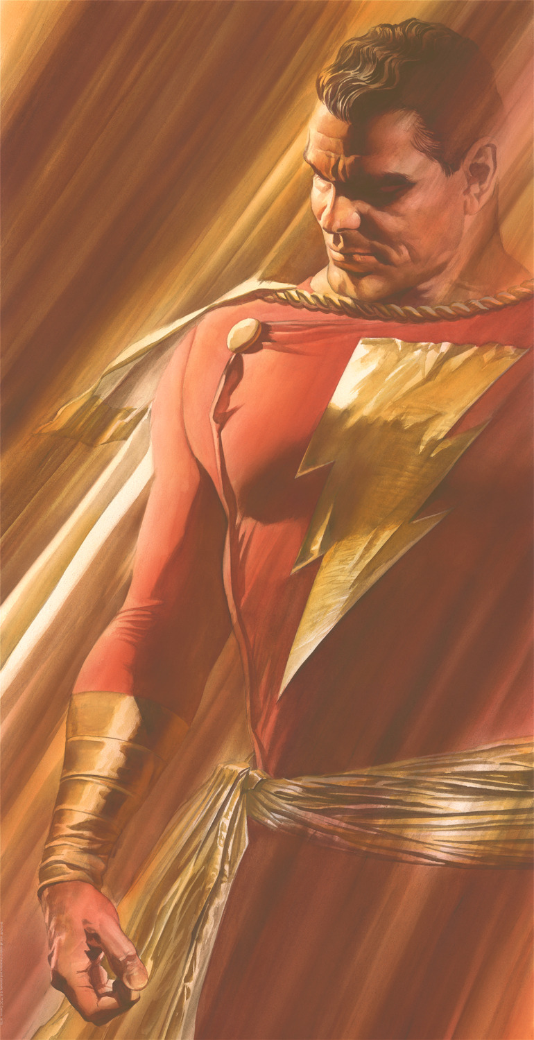 Alex Ross Hercules Artwork