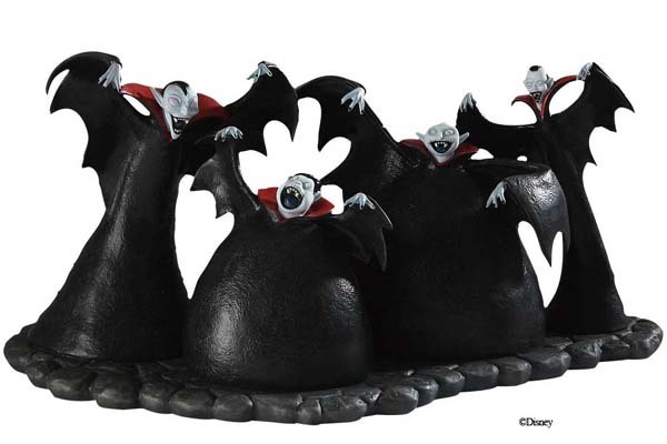 WDCC Figurines: Nightmare Before Christmas Vampire Quartet