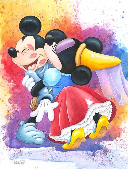 Michelle St. Laurent  Mickey Mouse Artwork