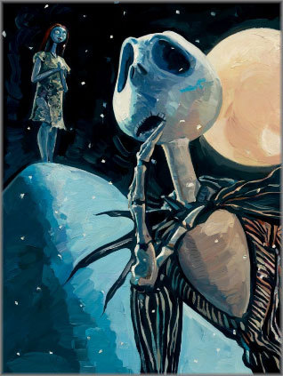 Jim Salvati We're Simply Meant To Be - Jack and Sally