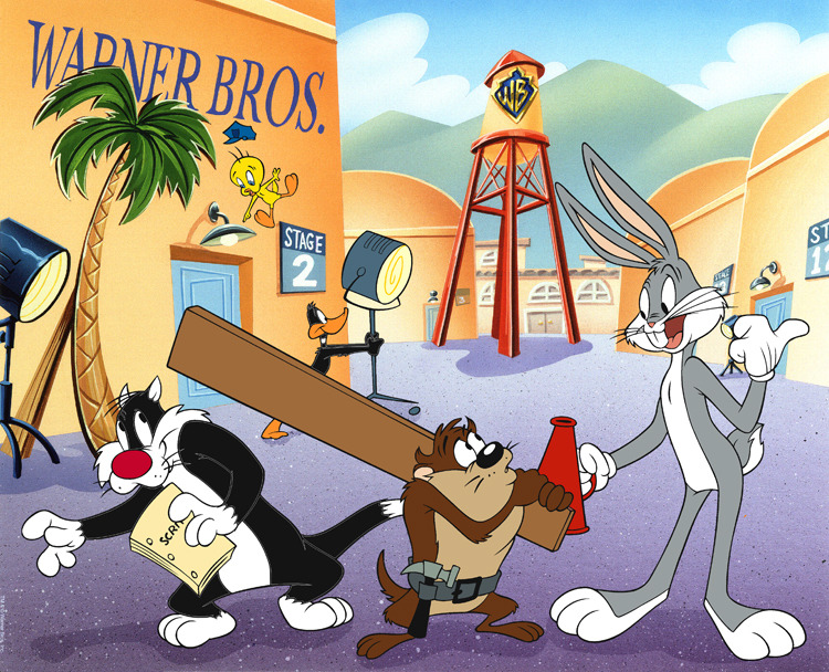Warner Brothers animation art