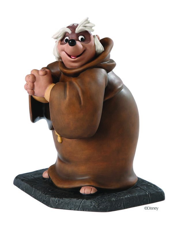 Robin Hood Artwork WDCC Figurines Classics Collection Bemused Badger - Friar Tuck