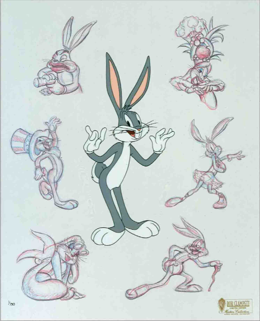 Bob Clampett Bob Clampett Animation Art