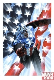 Alex Ross Comic Art Alex Ross Limited Edition Giclee on Paper Captain America #34