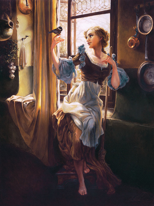 Heather Theurer Cinderella Art