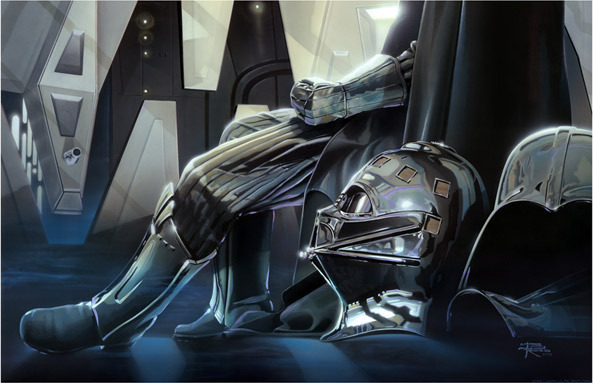 Brian Rood Brian Rood Limited Edition Giclee on Canvas Confinement - Star Wars