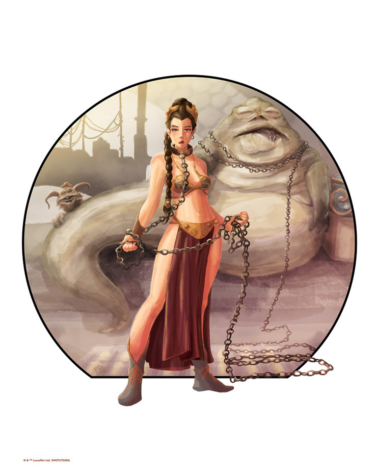 Penelope Gaylord Star Wars Artwork