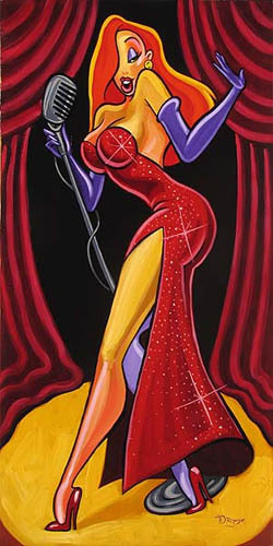 Tim Rogerson Roger Rabbit Artwork