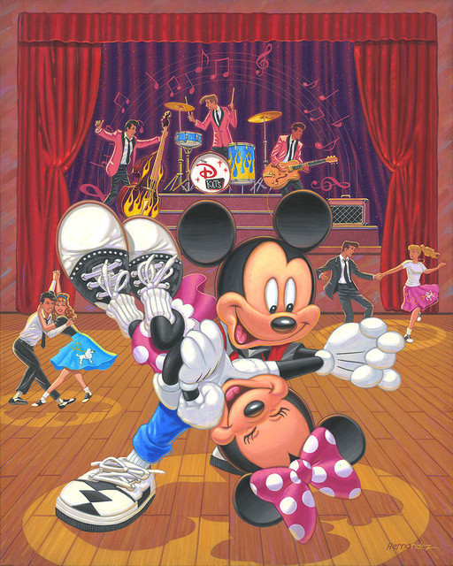 Manuel Hernandez Mickey Mouse Artwork