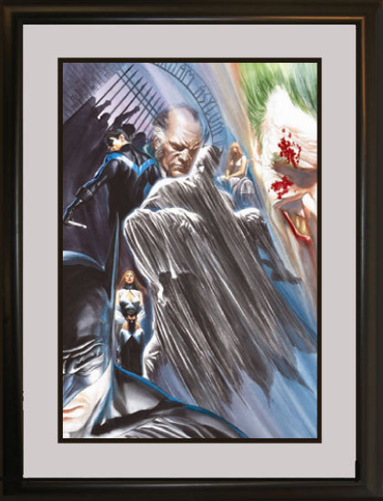 Alex Ross Batman Animation Artwork